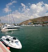 Boote und yachten — Stockfoto