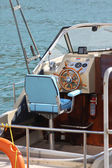 Cabin boat — Stock Photo