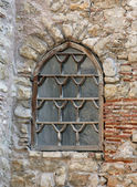Window in the old mosque — Stock Photo