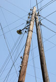Telegraph Pole — Foto de Stock