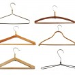 Clothes hangers set — Stock Photo #2755570