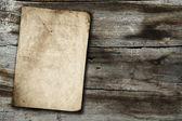 ウッド テクスチャのヴィンテージ紙 — ストック写真