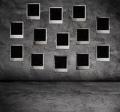 Interior com fotos — Fotografia Stock