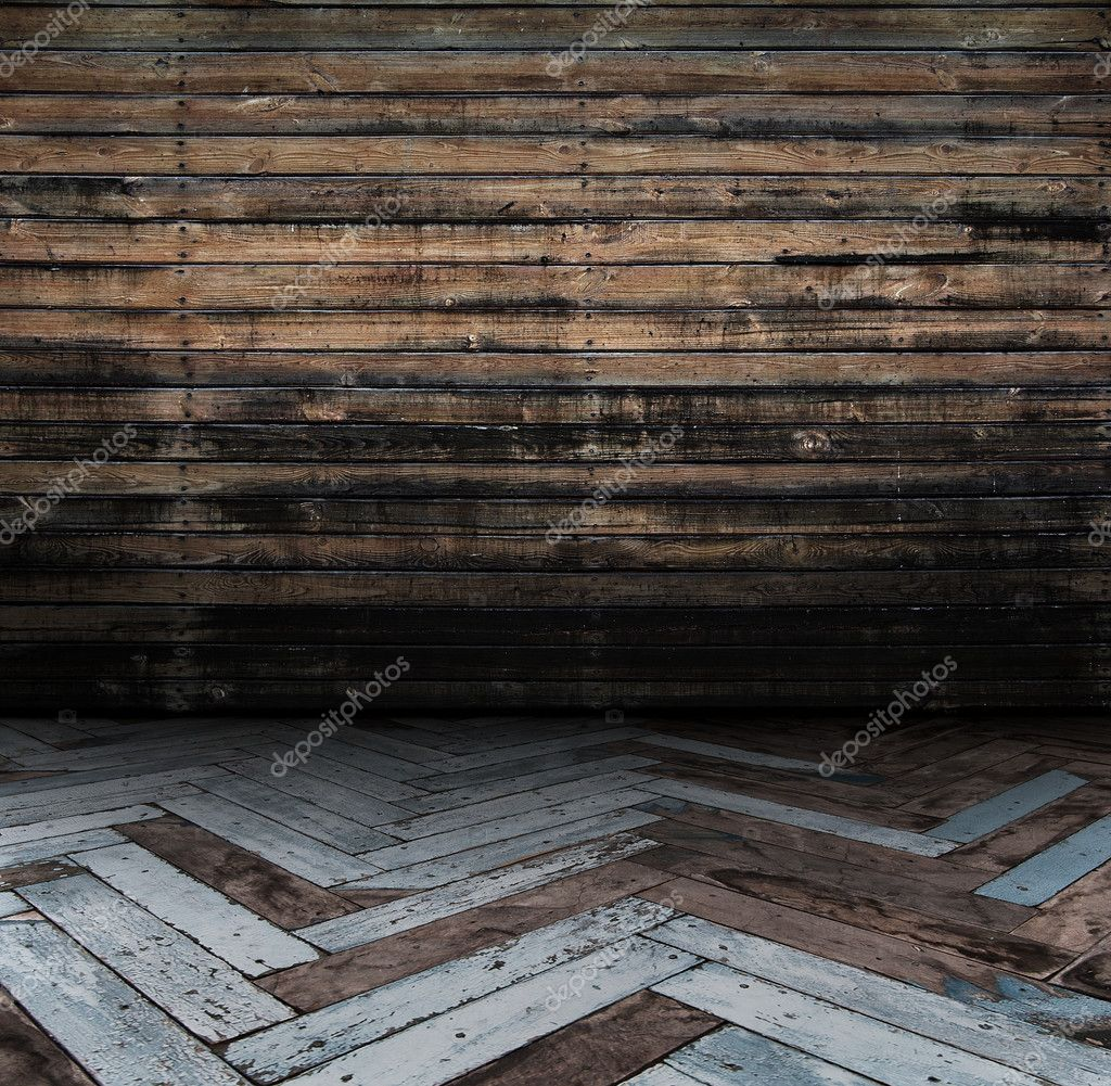 Grunge wooden room — Stock Photo #2842331