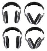 Headphones set isolated — Stock Photo