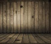 Habitación de madera — Foto de Stock
