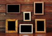 Old photo frames — Stock Photo