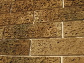 Brown bricks — Stock Photo
