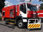 Powerful fire truck — Stockfoto