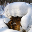 Stock Photo: Snowdrift