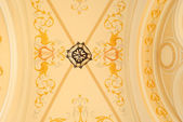 Ornament on the ceiling — Stock Photo