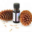 Fir oil — Stock Photo