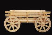 Drewniany wózek — Zdjęcie stockowe