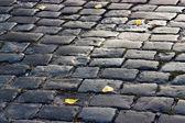 Old cobblestone road — Stock Photo