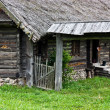 The old wooden rural house - Stock Photo
