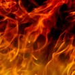 Royalty-Free Stock Photo: Fire flames background