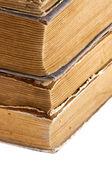 Stos starych książek — Zdjęcie stockowe