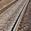 Railroad track — Stock fotografie