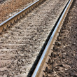 Railroad track - Stockfoto