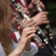Flutist — Stock Photo