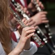 Stock Photo: Flutist