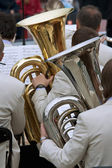 Tuba Players — Stock Photo
