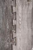 Old dark board — Stock Photo