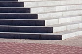 Granite staircase — Stock Photo