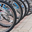 Bicycles — Stock Photo #3769327