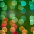 Blurred colored light — Stock Photo