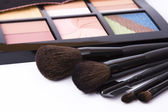 Pennelli per make-up e ombretto — Foto Stock