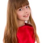 portrét krásné blondýnka — Stock fotografie