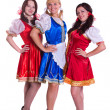 Three German/Bavarian women — Stock Photo #3786440