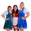 Three German/Bavarian women — Foto de stock #3786444
