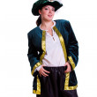 Woman in pirate costume. — Stock Photo