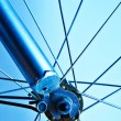 Bicycle wheel — Stock Photo #2810565