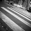 Stock Photo: Crosswalk in city