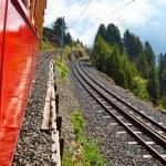 Alps mountain travel — Stock Photo