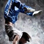 若い女性ダンサー — ストック写真