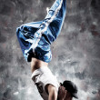 Foto Stock: Young woman dancer