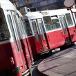 Tram in Vienna Austria — Stock Photo