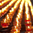 Burning candles - Stockfoto