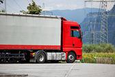 Heavy truck — Stock Photo