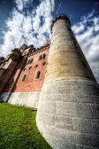 Castillo de neuschwanstein en alemania — Foto de Stock