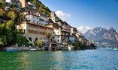 Lago de Lugano, na Suíça — Fotografia Stock