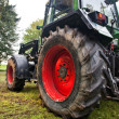 Big tractor - Stock Photo