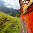 Alps mountain travel — Stock Photo