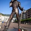 Statue of Freddie Mercury - Stock Photo