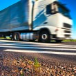 Truck transportation — Stock Photo