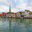 Zurich city in Switzerland — Stock Photo